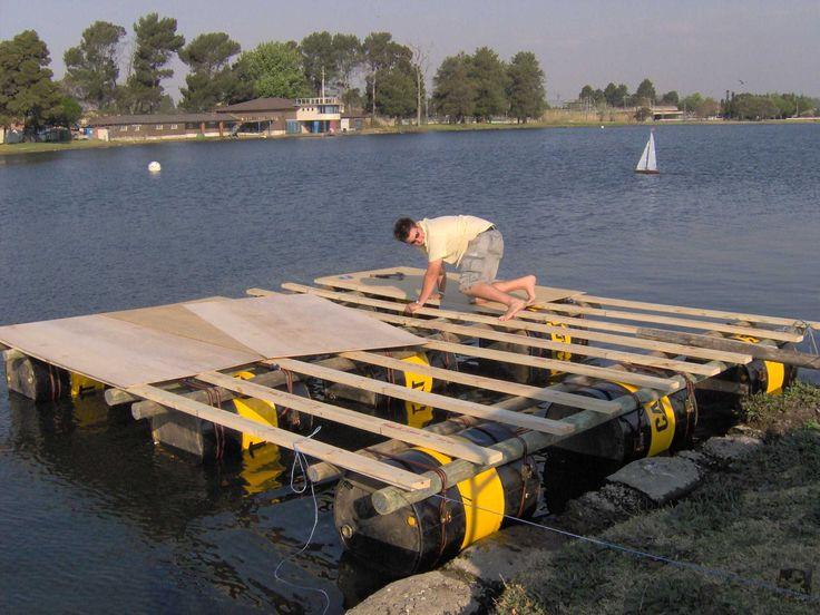 barrel pontoon boat Google Search Barrel Boat Pipe