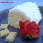 Tronchetto al cocco e cioccolato bianco
