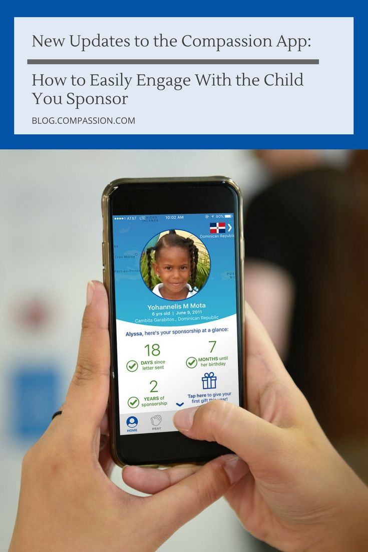 Our New Updates To The Compion Ios Make It Easier Connect With Child Or You Sponsor Version Allows Iphone Users Have A More
