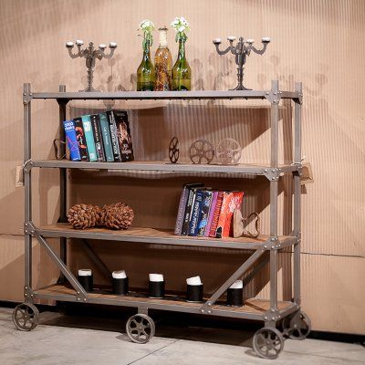 REZ Furniture Stationary Service Cart - VCSSCG1