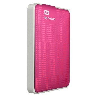 WD My Passport 500GB Portable External Hard Drive Storage USB 30 Pink WDBKXH5000APKNETG * You can get more details by clicking on the image.