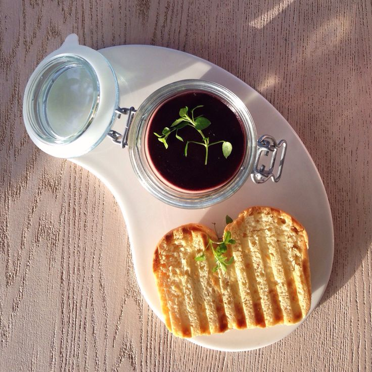Goose pâtè with sour cherry jelly and brioch @ Dune Restaurant Cafe Lounge