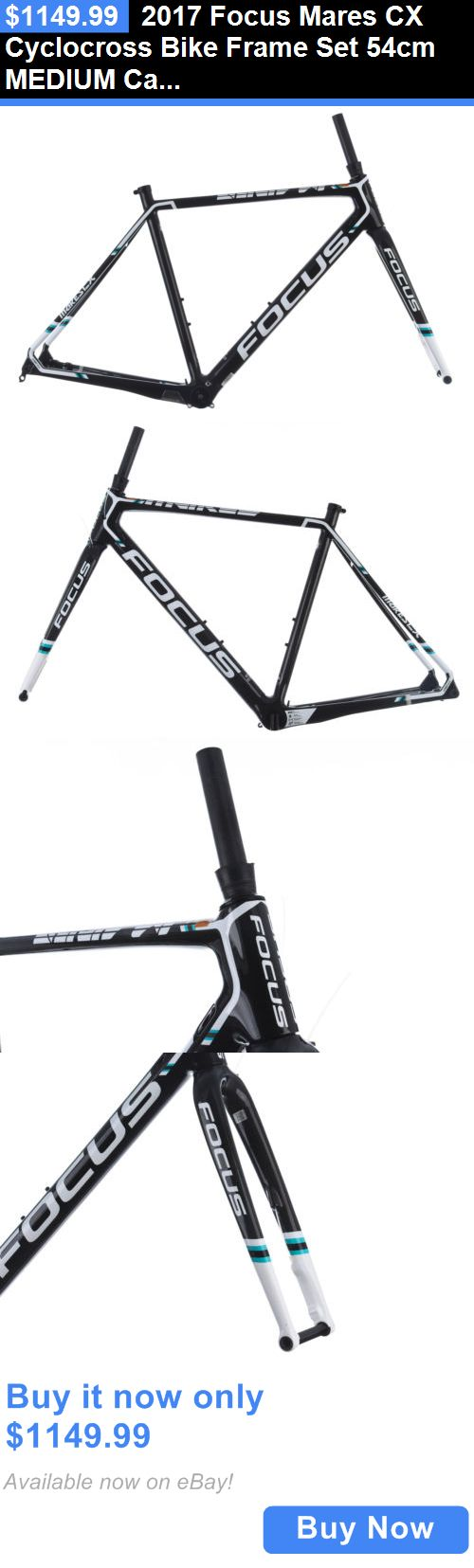 bicycle parts: 2017 Focus Mares Cx Cyclocross Bike Frame Set 54Cm Medium Carbon Disc R.A.T. BUY IT NOW ONLY: $1149.99