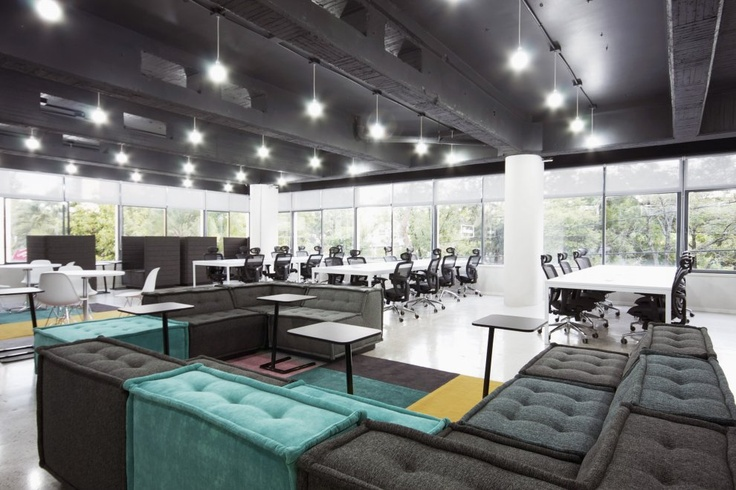 Office space NEVERMIND by LVS-Architecture - photo: Luis Othon Villegas