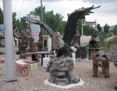 Seljuk Eagle Statue