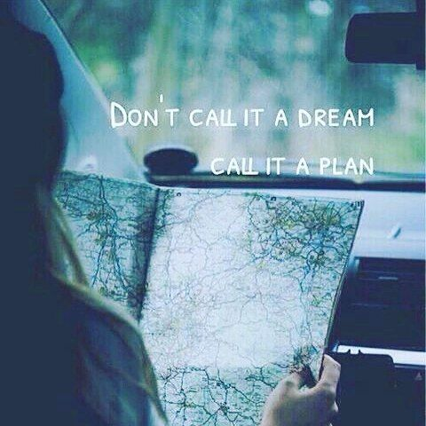 Exactly!  The road to success is paved with plans and goals, not wished and deams