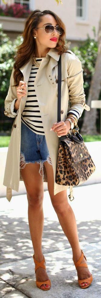 Orange Strappy Heeled Sandals #Fashionistas