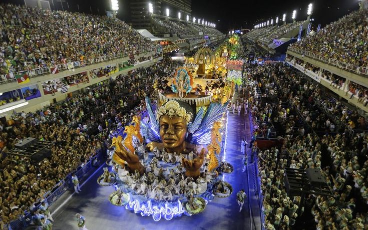 The annual spectacle pits the city's 12 best samba schools against one another in ornate parades that include over 2,500 participants each and cost more than $3 million to produce. The efforts are judged in 10 categories, with a winner announced later in the week, laying claim to nothing more than a year's worth of bragging rights.