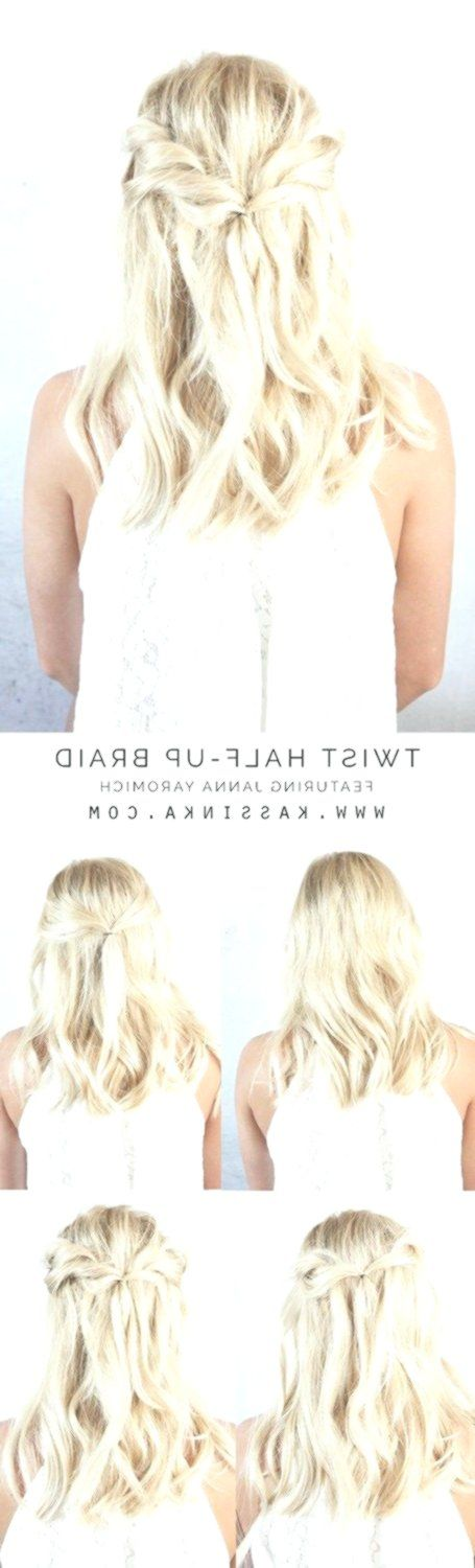Awesome Wedding Hairstyles Half Above Half with Curls and Braid - #Art #Bangs #Care #Dyed # Awesome