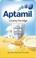 Aptamil Creamy Porridge 125g Ideal for 1st Weaning 4 Months Plus