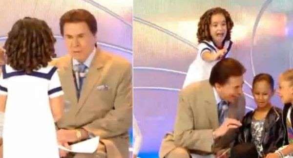 Em 2009, a suposta careca de Silvio Santos voltou à baila após a pequena Maisa decidir, ao vivo, pux... - Reprodução