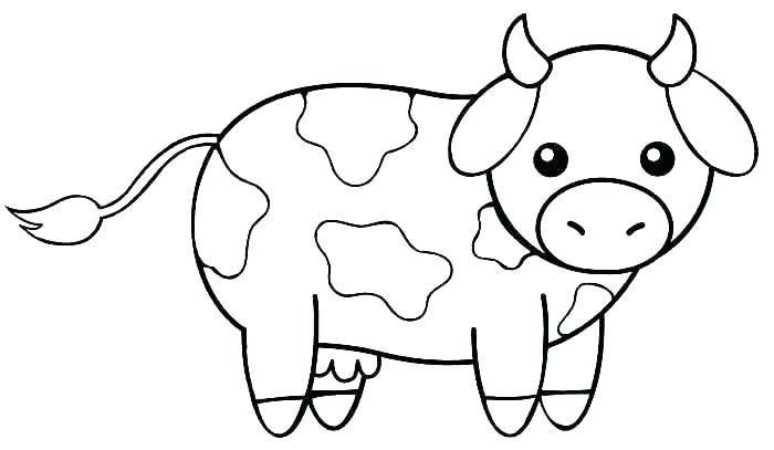 Baby Animal Coloring Pages Cow Farm Animal Coloring Pages Cow Coloring Pages Animal Coloring Pages