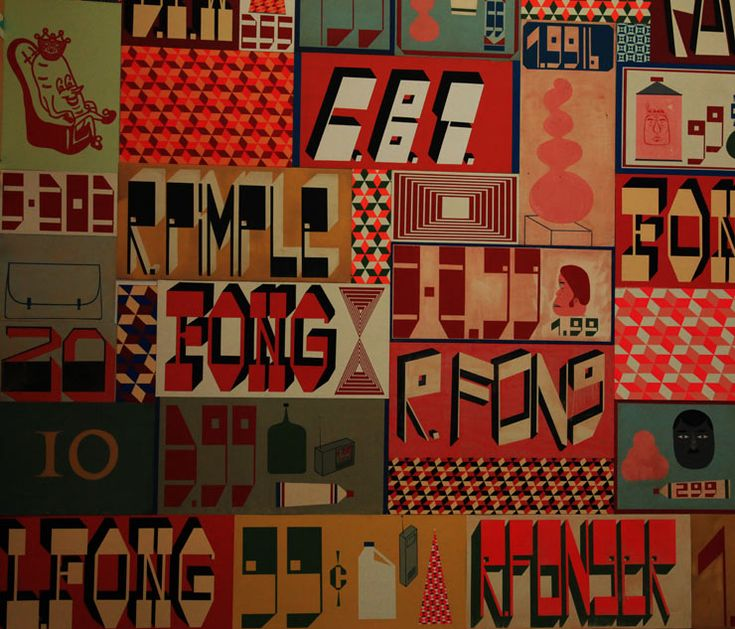 Barry McGee, from his mid-career survey at ICA Boston