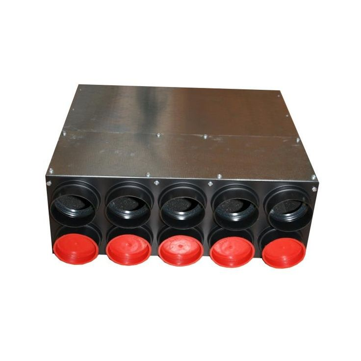 Verteilerkasten mit dn 160 haupt und 10 x 75 mm - Piastrelle 10 x 10 ...