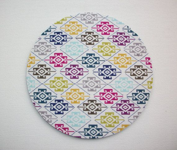 Mouse Pad mouse pad / Mat - aztec southwestern shapes round or rectangle office accessories desk home decor