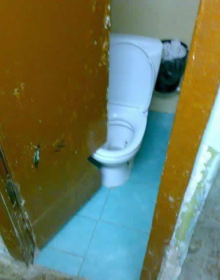 its like every public bathroom ever built.