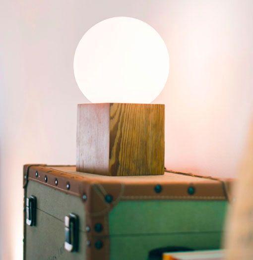 lámparas de mesa hechas a mano, modelo Martha
