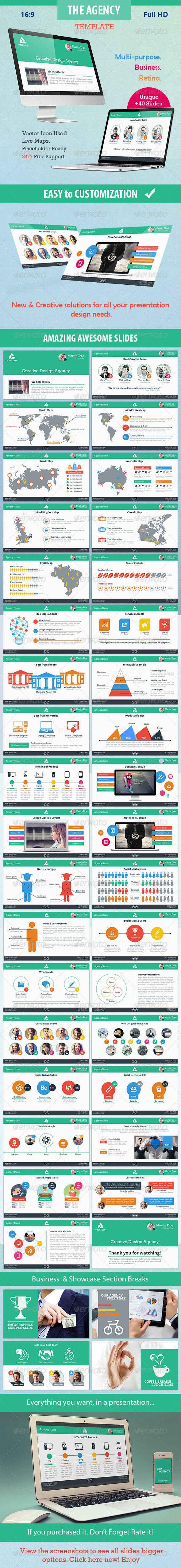 The Agency - Multipurpose Powerpoint Template