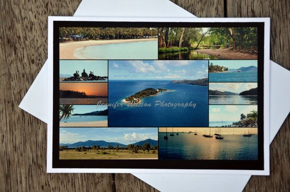 Photo Gift Card & Print. Picturesque Daydream Island and Airlie Beach  by JenWatsonPhotography, $4.00