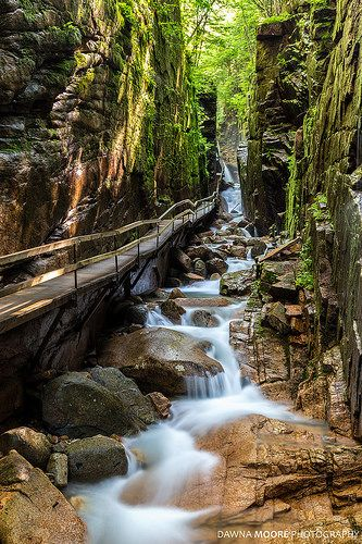 """The Flume Gorge, Lincoln, New Hampshire 