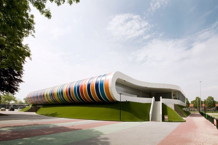 LIAG architecten: sportscomplex strijp