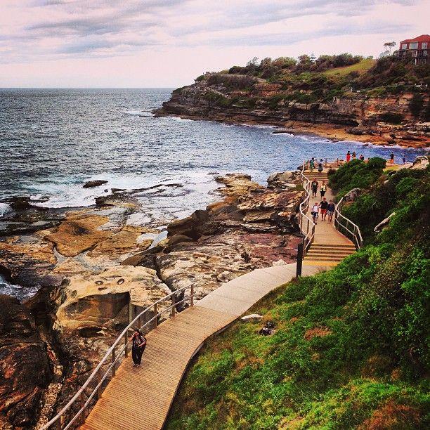 Bondi to Coogee coastal walk #Sydney #Australia     by amanda_dhk (instagram)