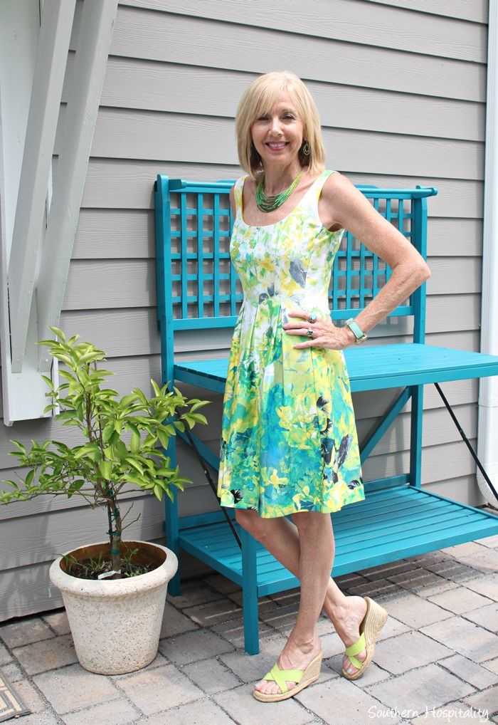Fashion over 50: Summer Dresses - Southern Hospitality