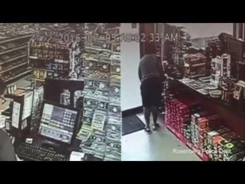 Brazen thief steals cancer donation jar in front of store clerk