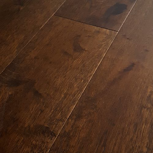 Hardwood Floors: Mohawk Hardwood Flooring - Artiquity Uniclic 7-1/2 IN. Wide - Barnwood Oak