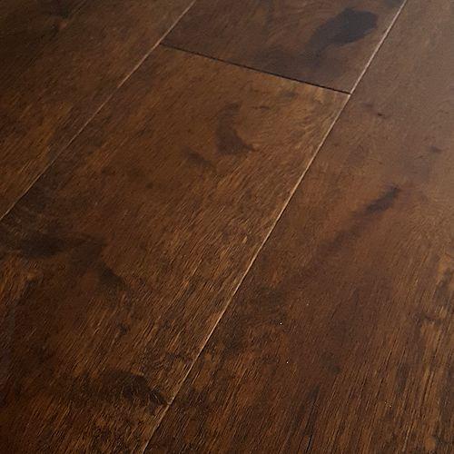 Hardwood Floors: Mohawk Hardwood Flooring - Artiquity Uniclic 7-1/2 IN. Wide - Barnwood Oak