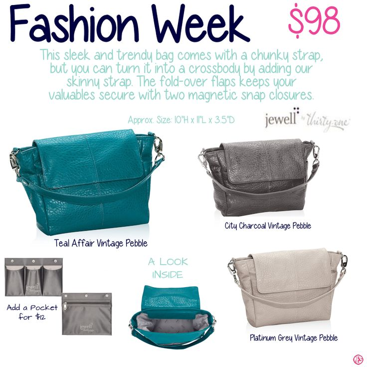 Fashion Week by Thirty-One. Fall/Winter 2015. Join my VIP Facebook Page at https://www.facebook.com/groups/JennaBrandes/