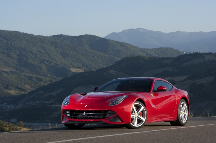 Ferrari's latest model - the F12 Berlinetta - is the firm's most powerful road car ever
