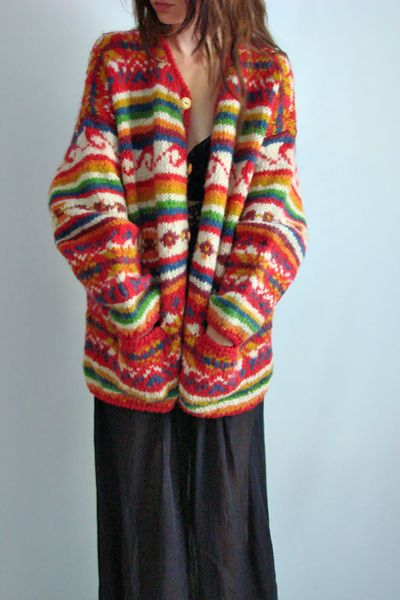 hippy clothes  I had a sweater almost just like this. Wish I still had it