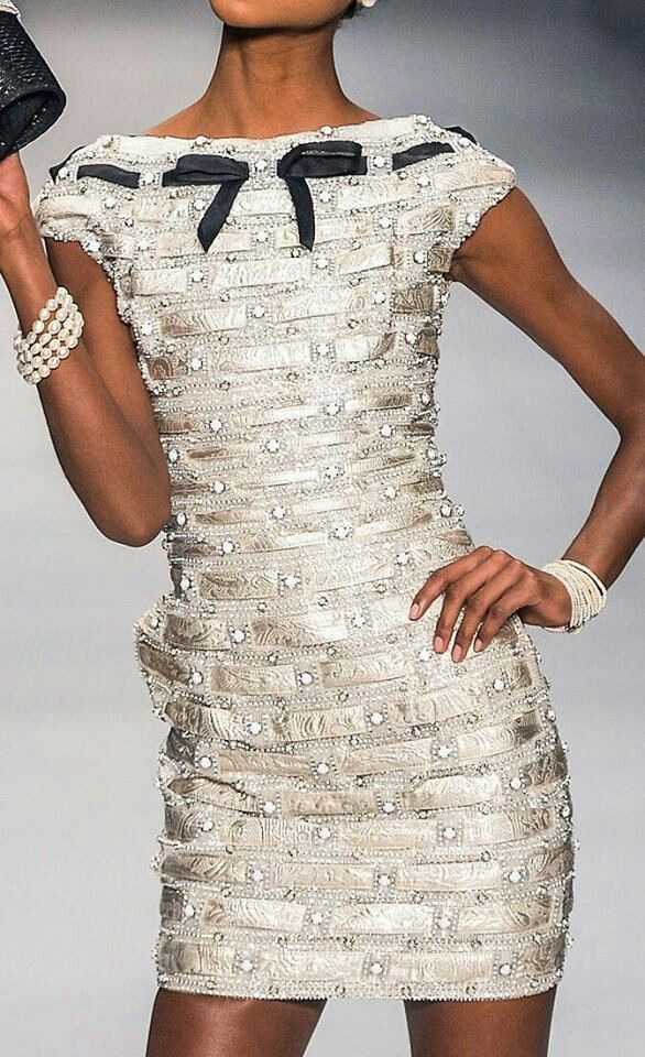 Chanel (?) Cocktail dress