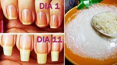Mis uñas se rompían todo el tiempo, hasta que al fin una amiga manicura me enseño esta receta