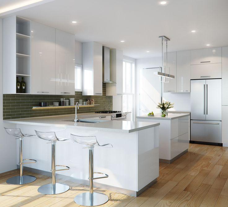 3D Kitchen Rendering