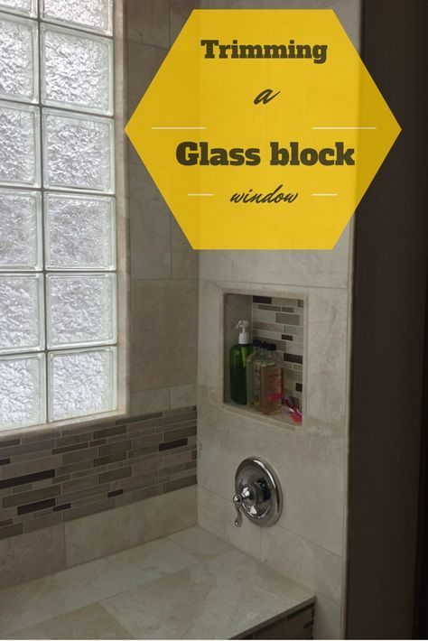 Ever wonder how to finish the inside of a glass block shower window? Click here to learn how http://blog.innovatebuildingsolutions.com/2015/07/14/install-glass-block-shower-window/