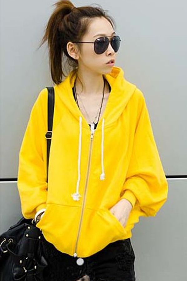 17 best ideas about Yellow Zip Up Hoodies on Pinterest | Yellow ...