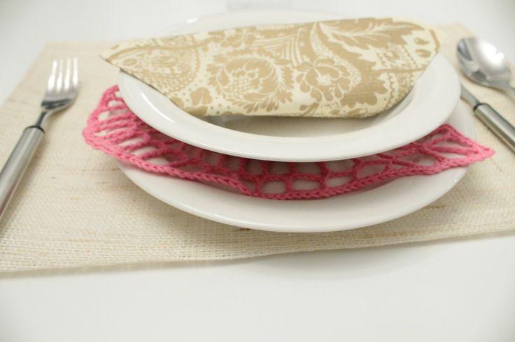 Plate doily