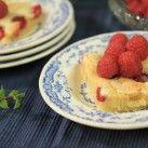 Raspberry blondies - Recept från Mitt kök - Roy Fares