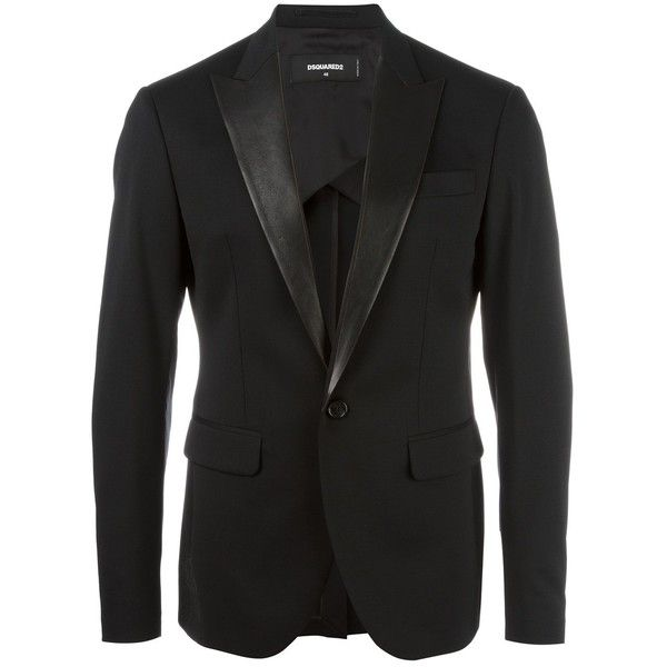Dsquared2 Tokyo Suit Jacket ($1,049) ❤ liked on Polyvore featuring men's fashion, men's clothing, men's outerwear, men's jackets, mens military jacket and mens military style jacket