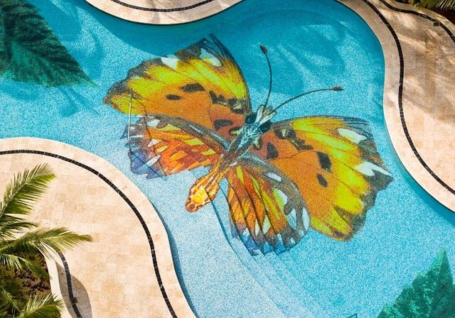 Swimming Pool Tiles in Maharashtra are climate resistant, substance evidence and portable, as the item is made up of glass, it does not process water, and it is also immune to heat surprise, shade diminishing.