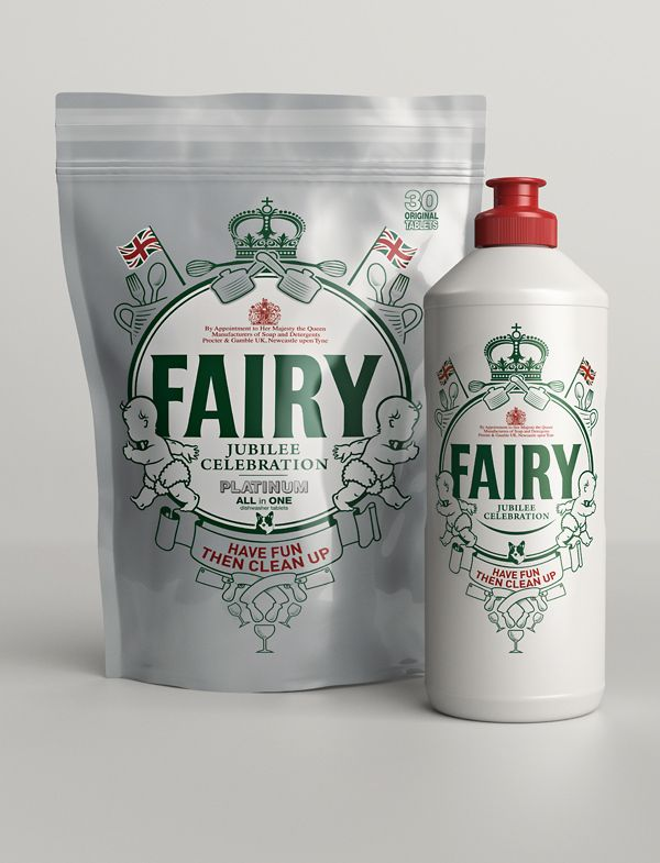 FAIRY - Jubilee by Lewis Rowe.   Rather unusual IMPDO.: Soaps, Diamonds Jubil Editing, Diamonds Jubileeedit, Lewis Row, Packaging Design, Graphics Design, Fairies Liquid, Retro Style, Editing Packaging
