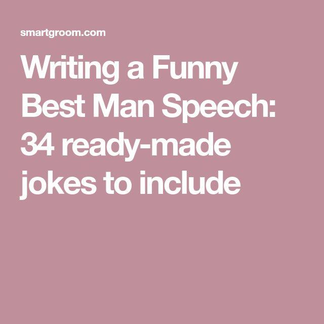 Best Man Sch Funny Wedding Ideas