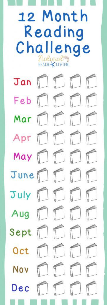 12 Month Reading Challenge To Start Right Now, A free Reading Challenge for kids, teens, and adults. Kids reading activities, free printables reading challenge ideas, Fun Book Ideas, Reading is important, Kids Books, Perfect for book groups, book clubs and more. Encourage and Motivate Kids to Read, Book Challenges for the whole year #reading #readingchallenge