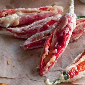 Tempura Cheese-Stuffed Chillies Recipe   Asian Food Recipes   Pintere ...