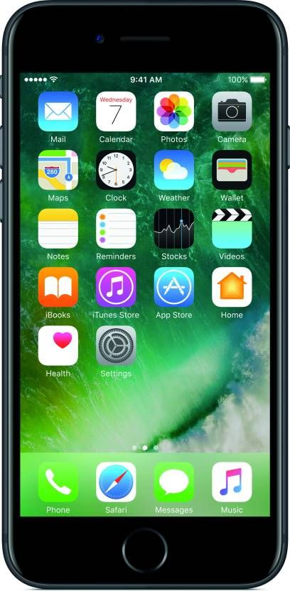 Apple iPhone 7 (Black, 128 GB) Price Comparison on the different website like Flipkart, Amazon, Shopclues etc. Also Check the review, specification, features, pros, cons, images and more.