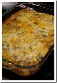 """Supposedly it's the """"Best Breakfast Casserole Ever""""...                                                                                                                                                                                 More"""