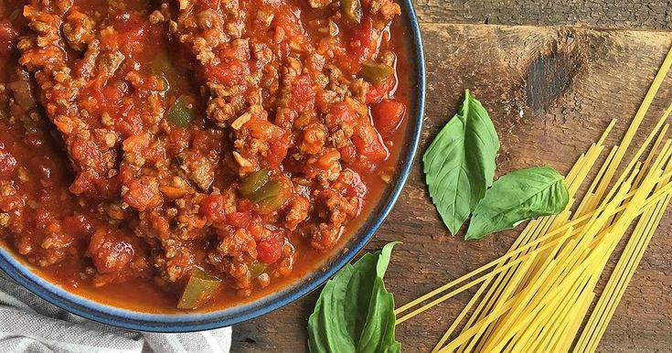 Want a healthy sauce for pasta, but don't have time to stay in the kitchen? Prep and forget our hearty meat sauce packed with veggies in the slow cooker.