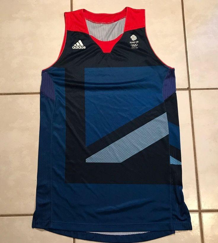 Rare ADIDAS Great Britain England 2012 Olympics Basketball Jersey Men's Medium  | eBay